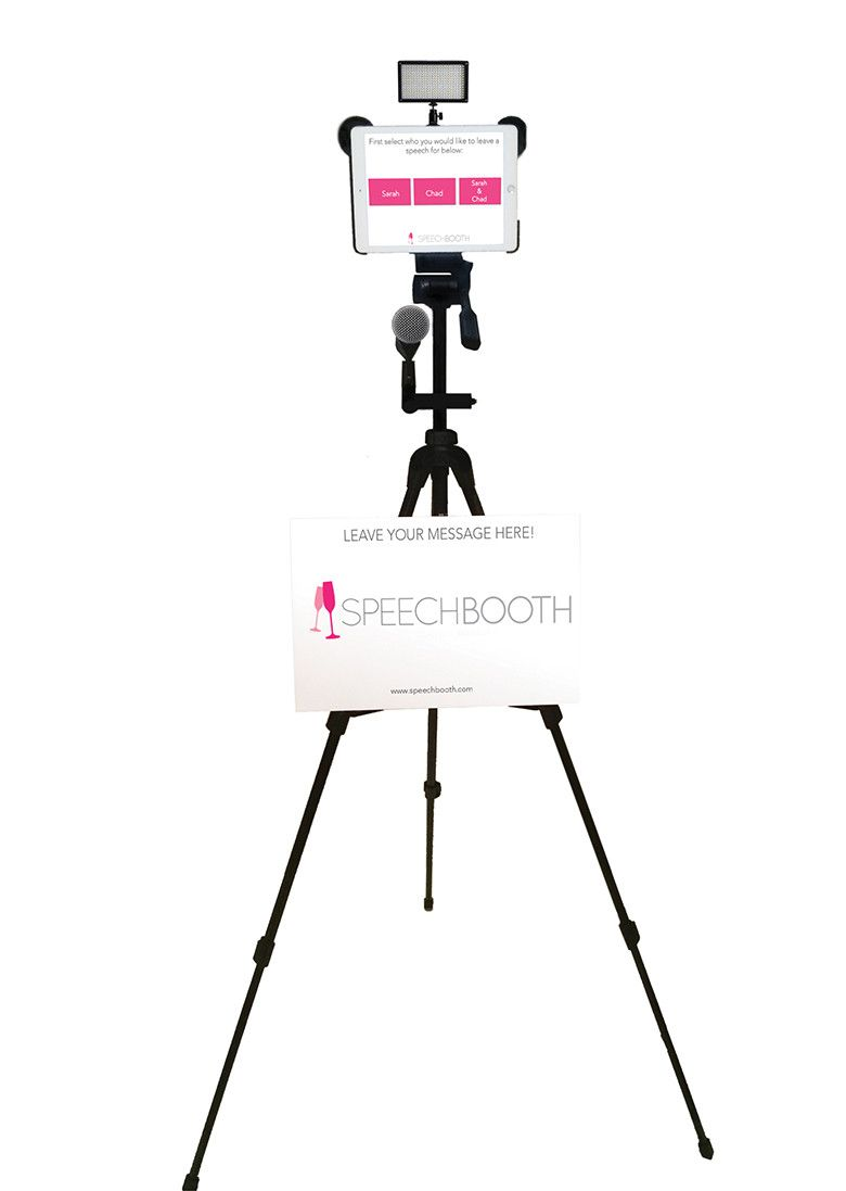 Capture The Memory Of Wedding Guests With Speechbooth Diy Wedding Video Video Booth Wedding Video Booth