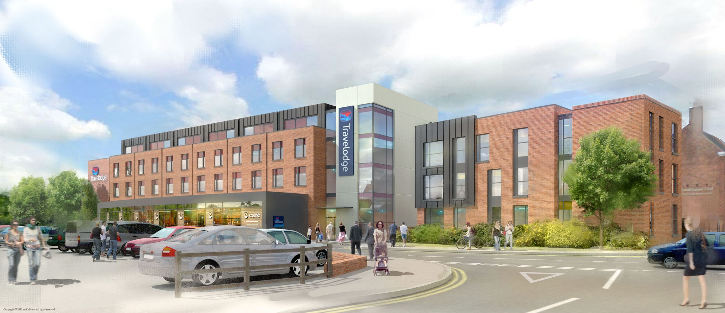Affordable Housing Lichfield Venture Friary Outer Car Park S Harrison