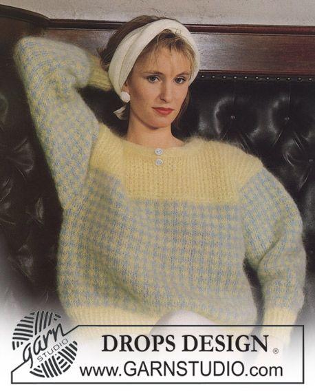 80'er Free Pattern | Free Pattern Knit 80th & 90th | Drops