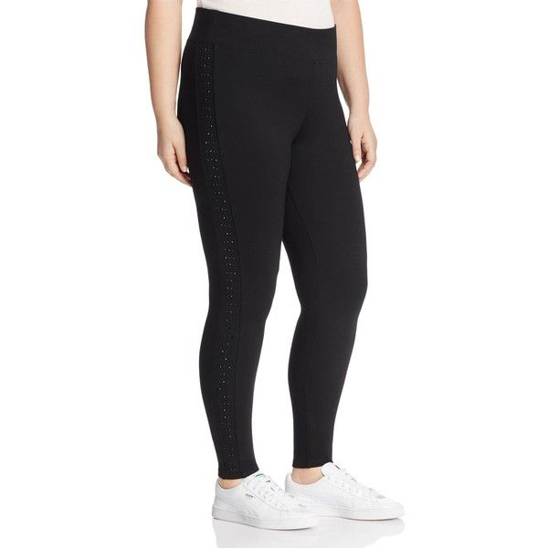 fc7d7db81e279 Marc New York Performance Plus Embellished Leggings ( 69) ❤ liked on Polyvore  featuring plus