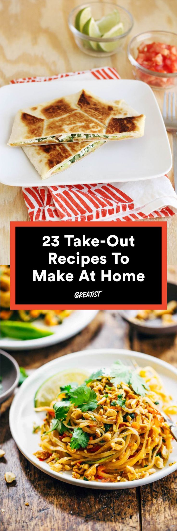 23 take out favorites you can make way healthier at home comfort leave those delivery menus in the drawer healthy takeout recipes httpgreatisteattake out recipes you can make healthier at home forumfinder Choice Image