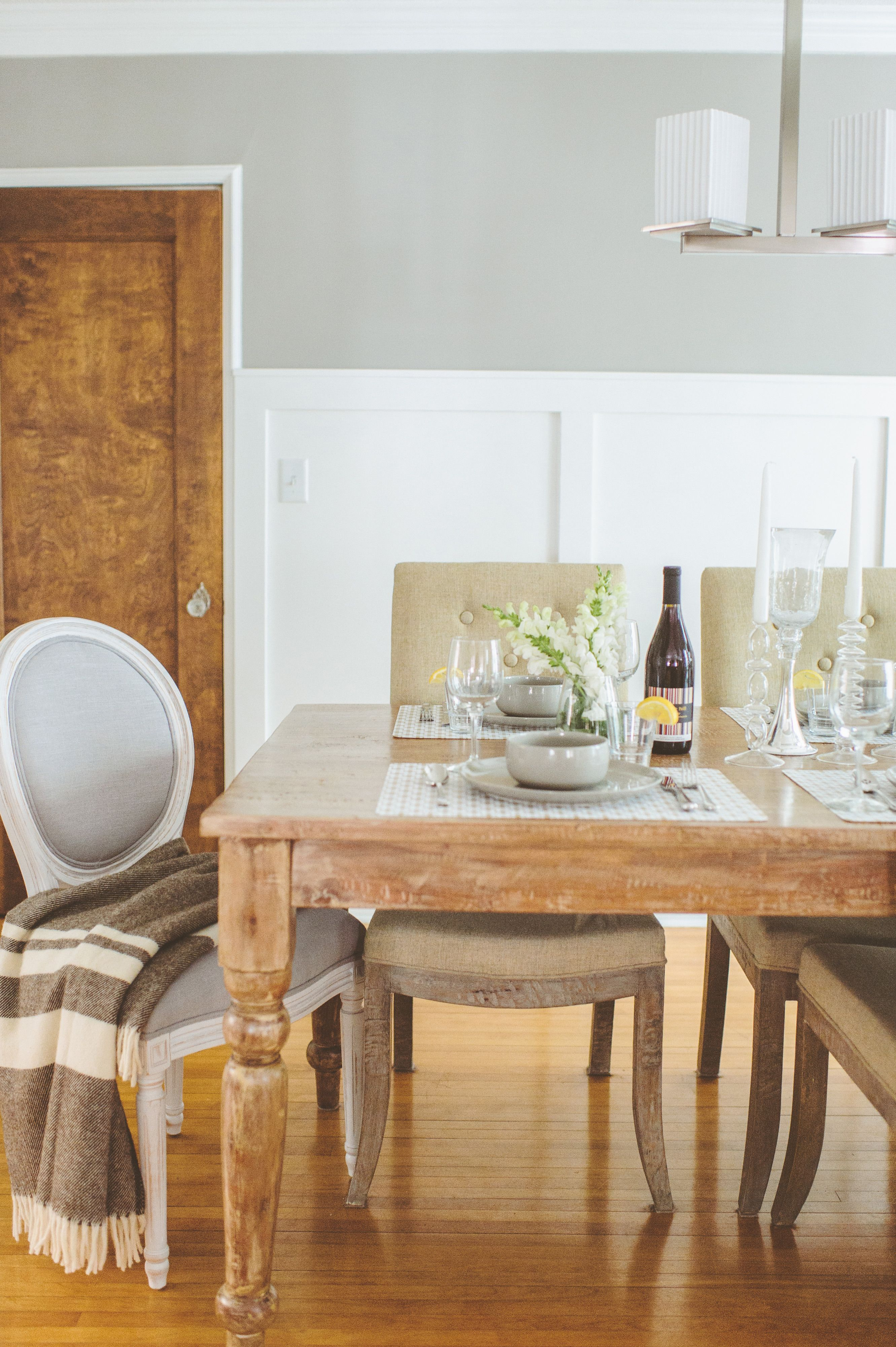 Cozy Minneapolis Home Tour Wooden Dining TablesRustic TableDining