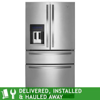 Costco Whirlpool 25cuft French Door Stainless Steel Refrigerator