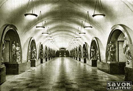 Фотографии старого московского метро | Фотографии
