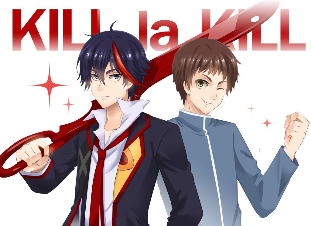 Mako And Ryuko Genderbend Kill La Kill By Magion02 On