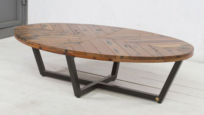 Duke Oval Coffee Table Not Really Digging The Legs But I Like Top And Shape