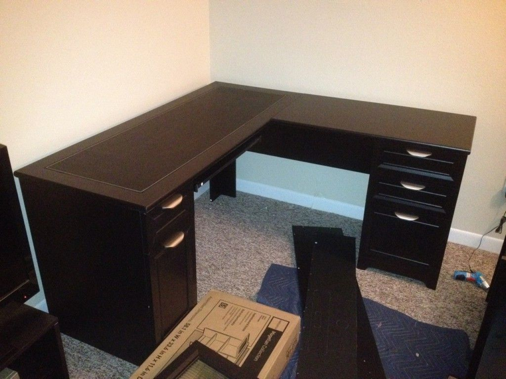 Por Ikea L Shaped Desk