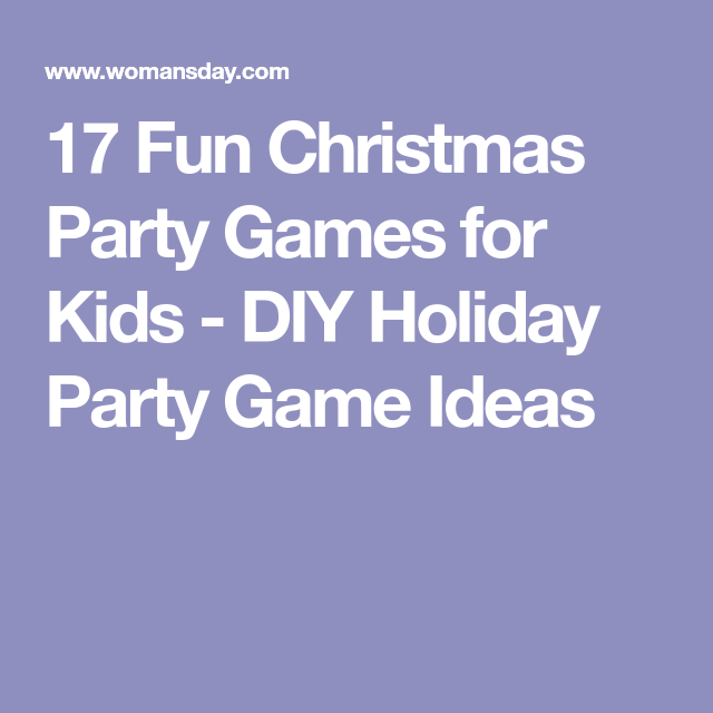 17 Christmas Party Games Your Guests Will Love | Christmas party ...