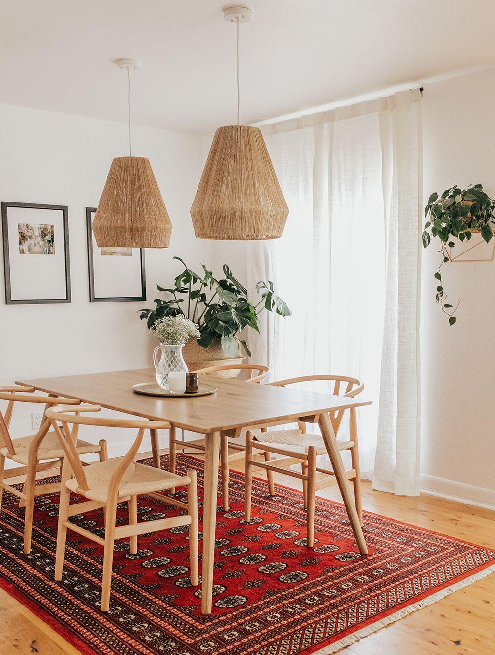 Modern Bungalow Dining Room Reveal Livvyland Bungalow Dining Room Vintage Dining Room Boho Dining Room Bungalow dining room decorating