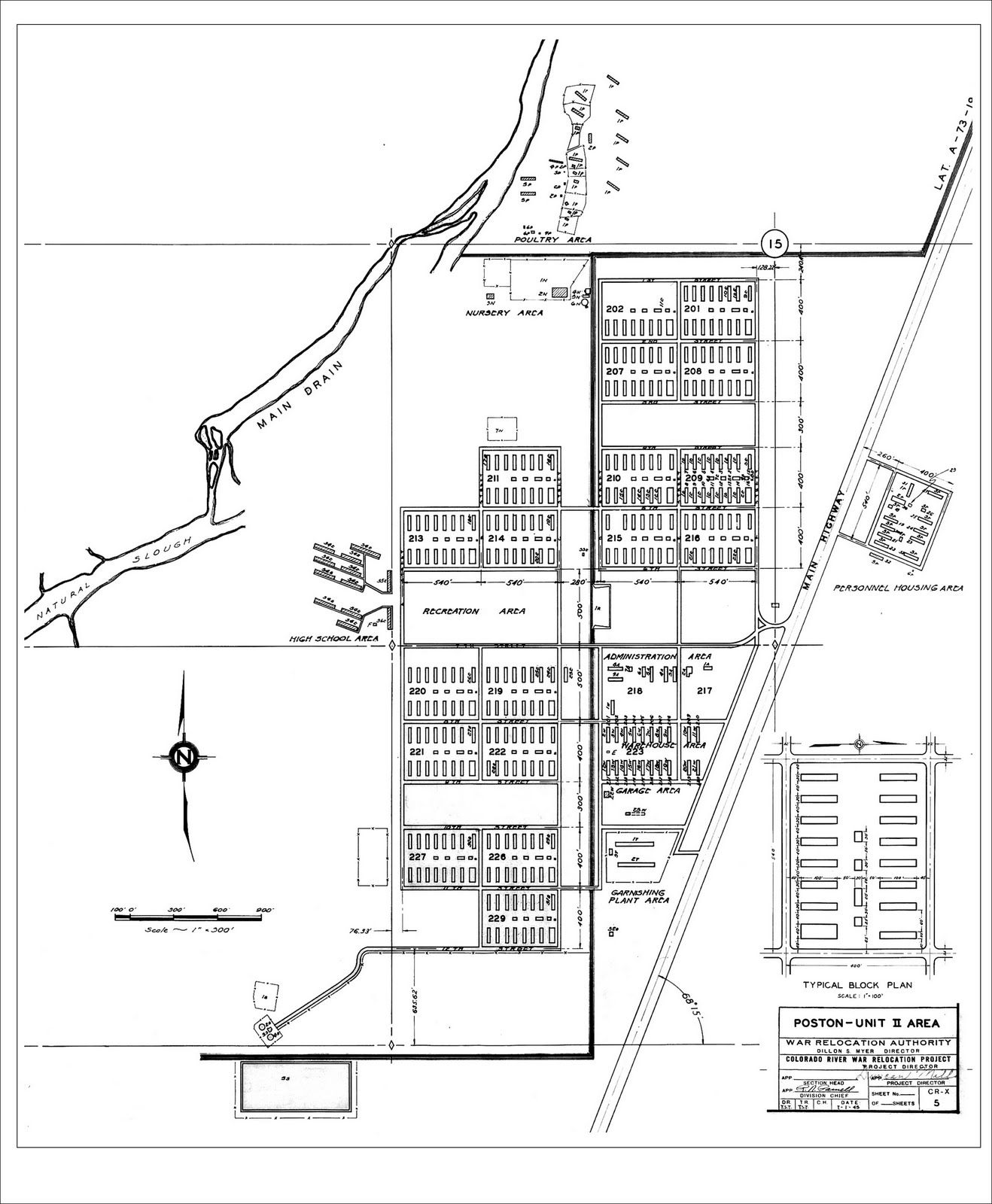 poston concentration camp block maps camp layout akari poston concentration camp block maps camp 2 layout