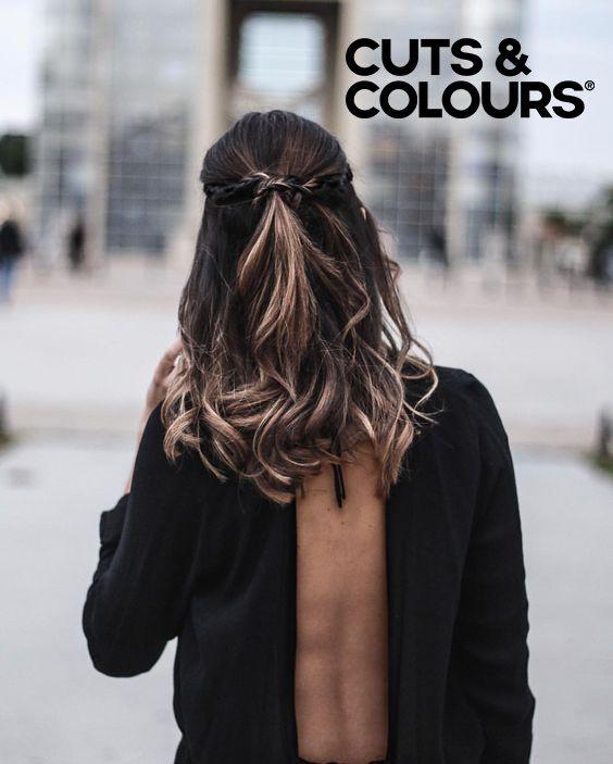 Subtiele kleuring | Halflang haar | CUTS & COLOURS