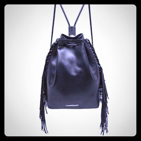New with tag VICTORIA SECRET Leather black Victoria's Secret Bags