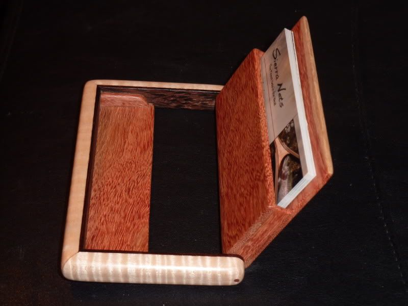 Business card holder plans - by Greg @ LumberJocks.com ...
