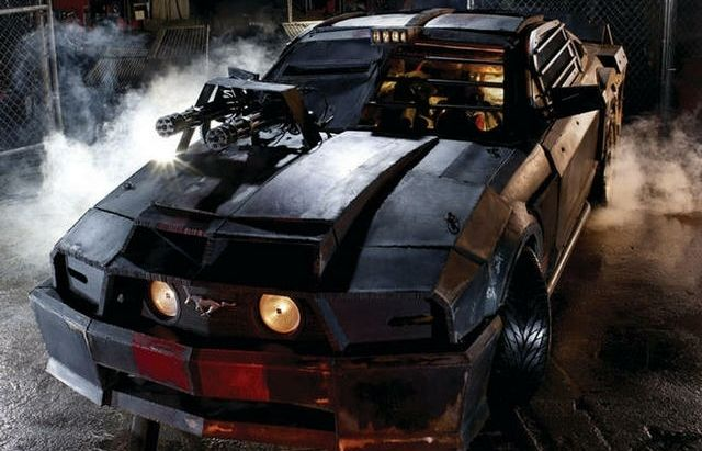 Death race 2 cars