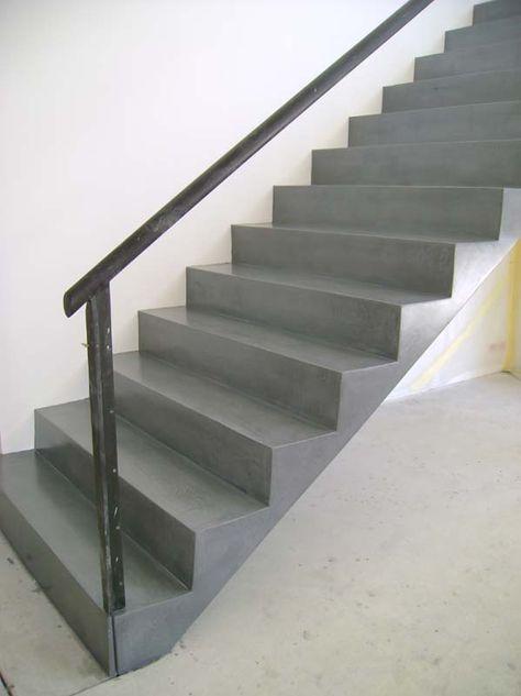Beton Cir Saint Malo Faire Votre Escalier En Beton Cir Un
