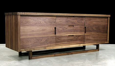 Hudson Furniture Low Console