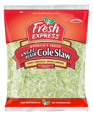 Spaghetti Substitute Use Angel Hair Coleslaw Very Finely Cut