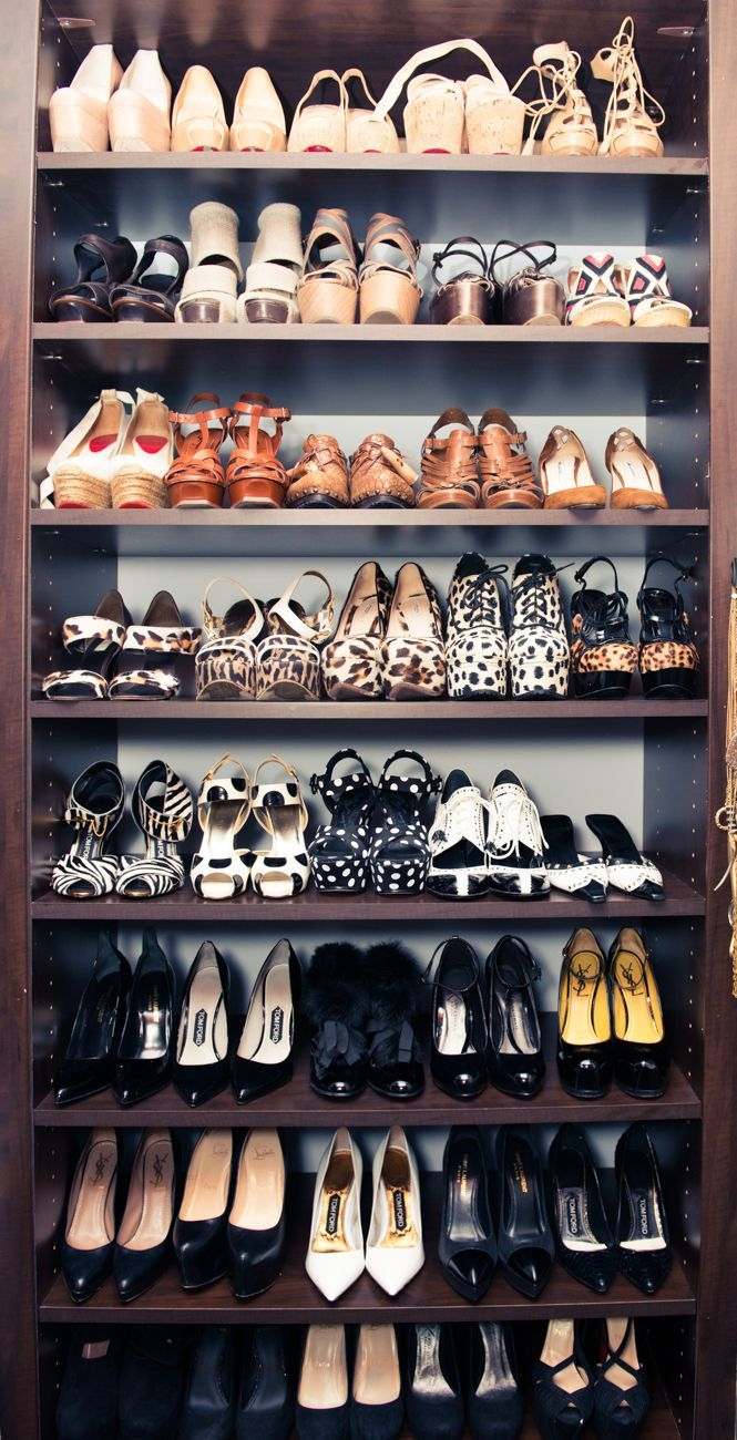 Inside the Jaw-Dropping Shoe Closets of 10 TopCelebrities