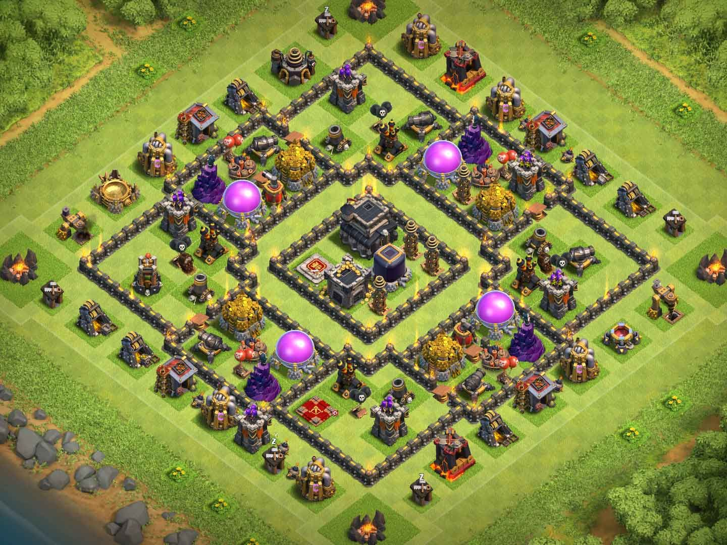 Base Farming Th 9 Anti 3 Star 8