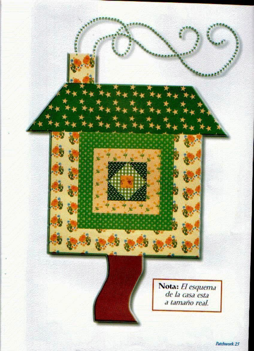 Revistas de manualidades gratis proyectos que intentar pinterest quilts y patchwork - Proyectos de patchwork ...