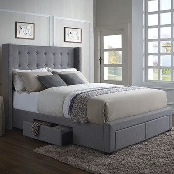 youu0027ll love the thousand oaks storage platform bed at wayfair great deals on - Wayfair Platform Bed