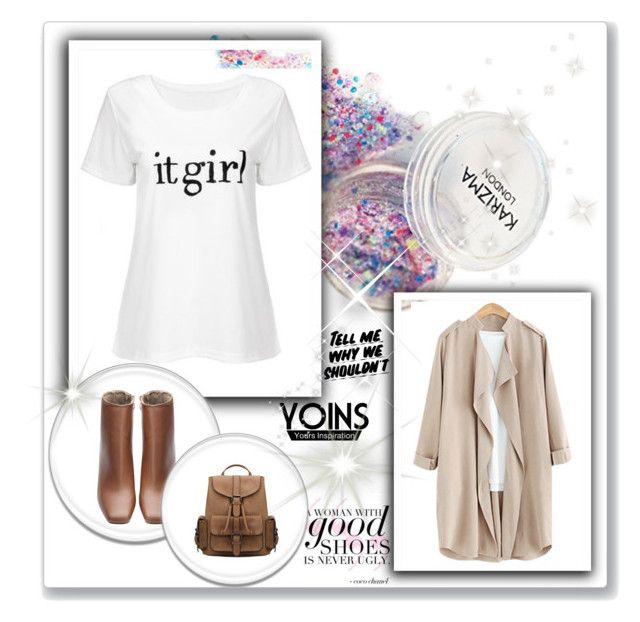 """""""YOINS IT GIRL"""" by dunjaivic ❤ liked on Polyvore featuring Baron Von Fancy, yoins and loveyoins"""