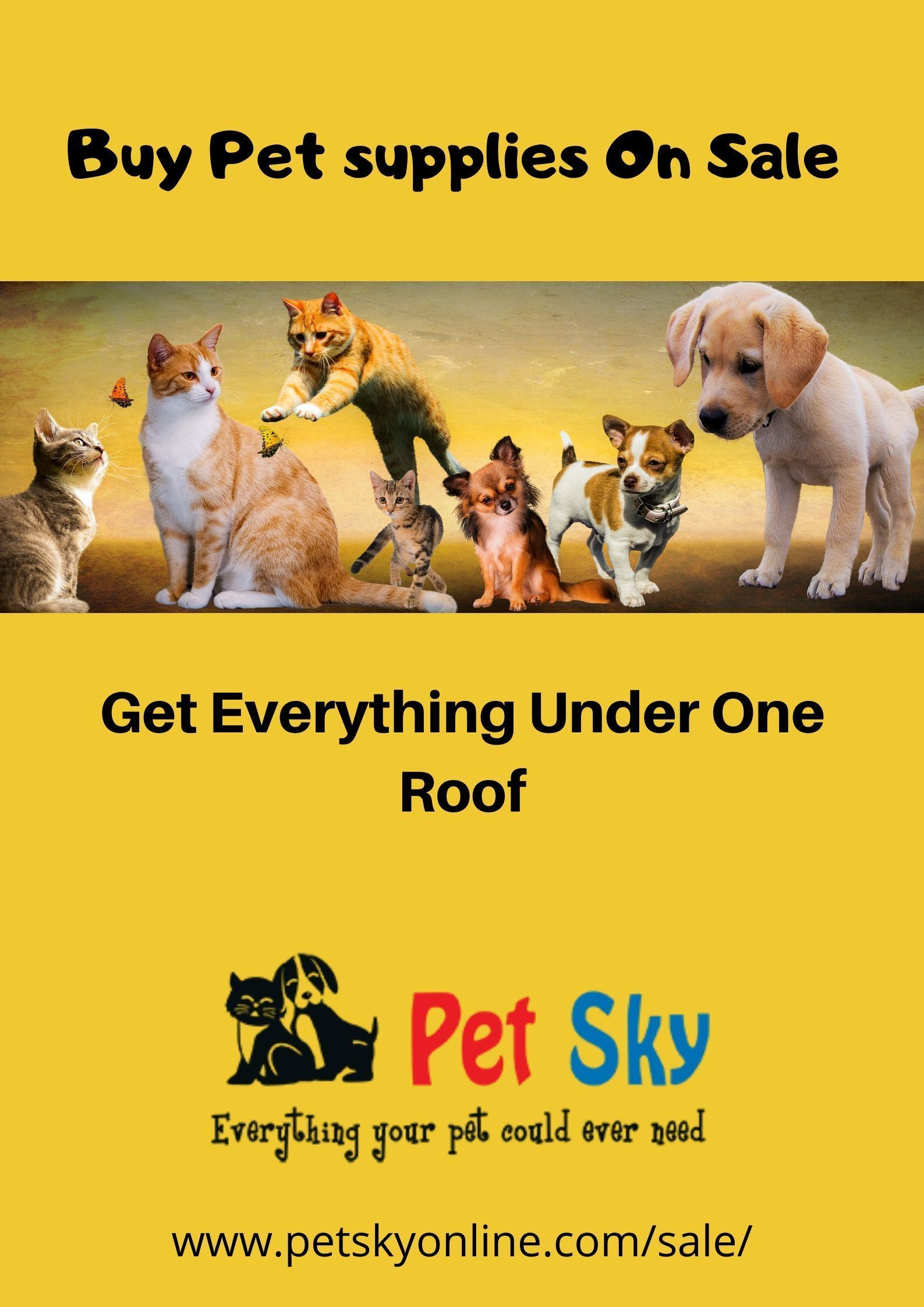 Discount On Pet Products Get Everything For Your Pets Under One