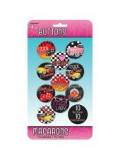 Classic 50s Buttons 10ct - Party City