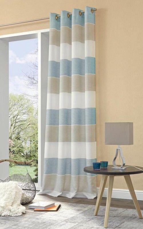 Ösenschal Tosca, 245cmx140cm, Artikelnummer OE-TOSCA-245-057 Farbe - gardinen fürs wohnzimmer