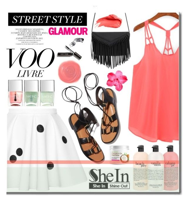 """""""Summertime Shein"""" by daizydarling ❤ liked on Polyvore featuring Rosetta Getty, philosophy, Rituel de Fille, Nails Inc., Urban Decay and Bobbi Brown Cosmetics"""