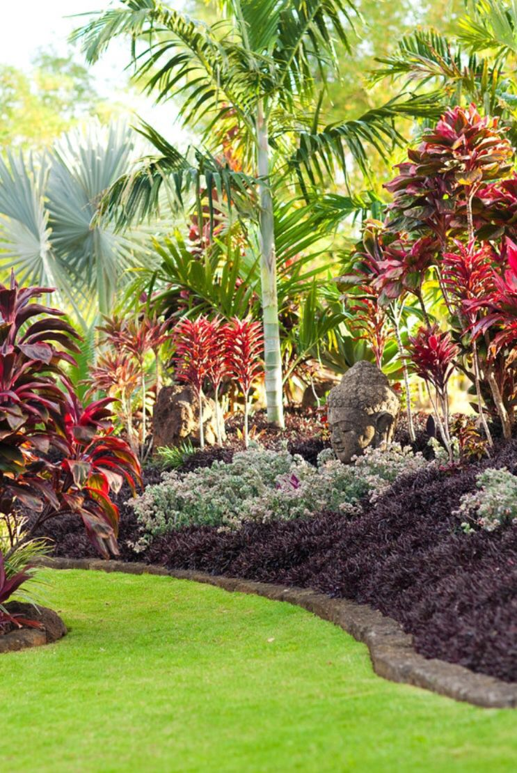 20+ Best Tropical Patio Design Ideas   Tropical garden, Gardens and ...
