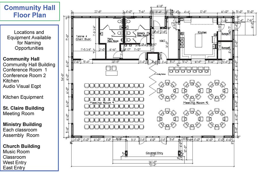 Image Result For Community Hall Design Plans Community Halls Hall Flooring Hall Design