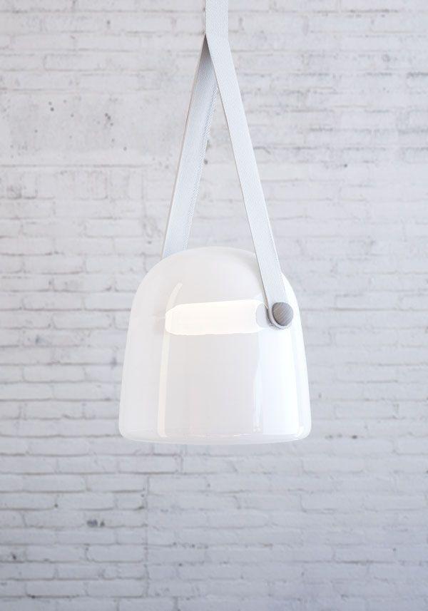 Lucie Koldova has designed Mona, a new pendant light for manufacturer Brokis.