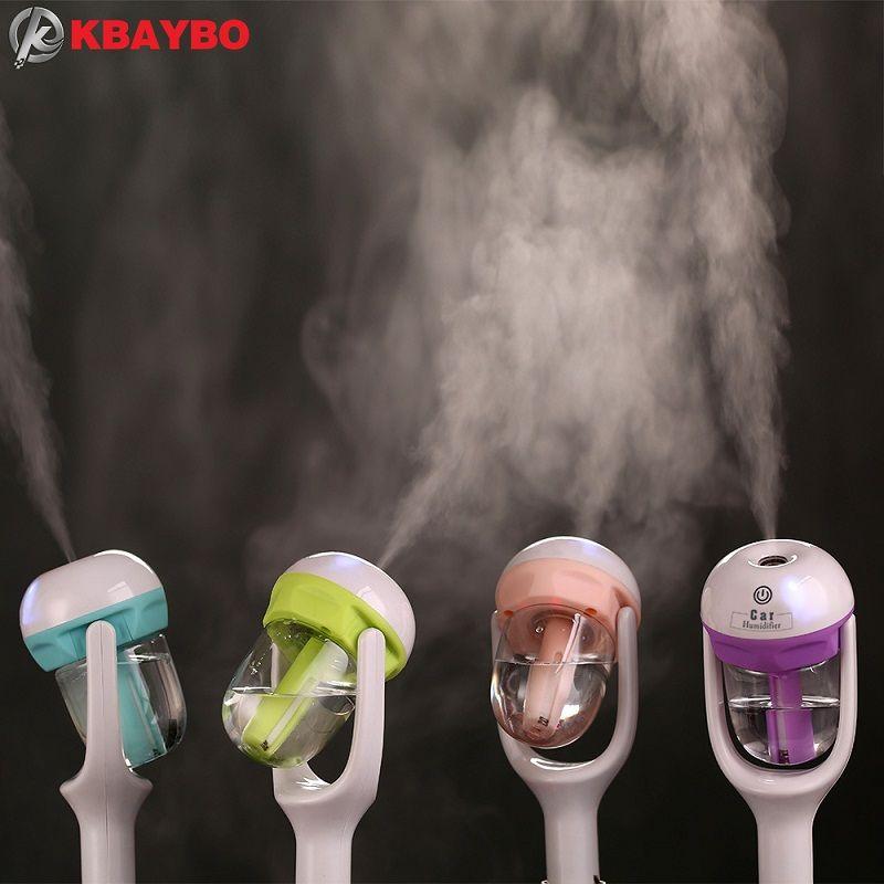 Voiture humidificateur Mini purificateur d/'air Auto Aromathérapie Mist Maker Aroma Diffuseur