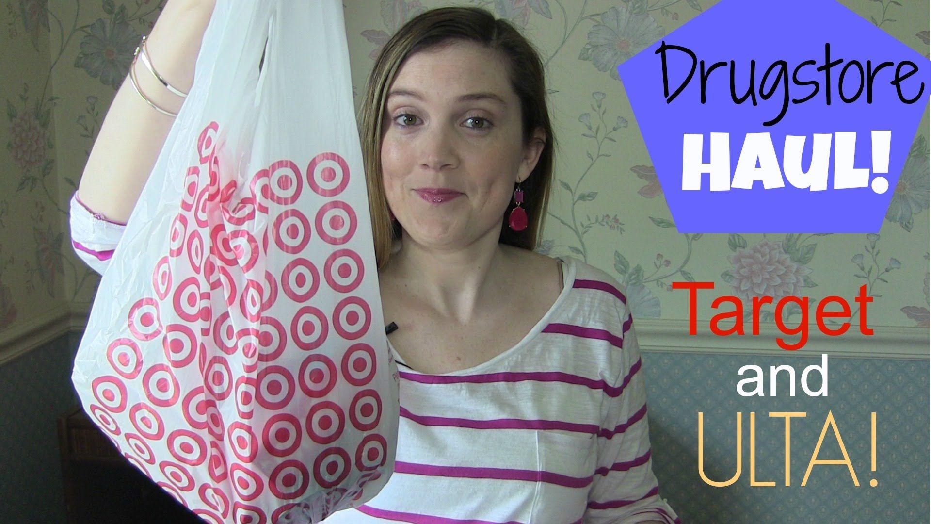 Drugstore Haul! - Target and Ulta