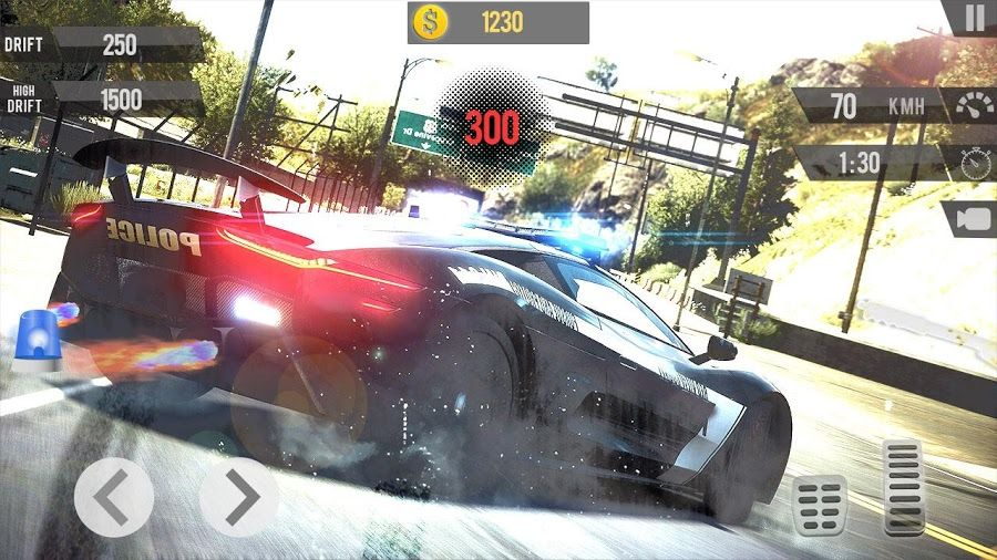 Police Car Drifting Is Always A Challenge Game Drive Fast With Extreme Racing Police Cars Best Drift Drifting