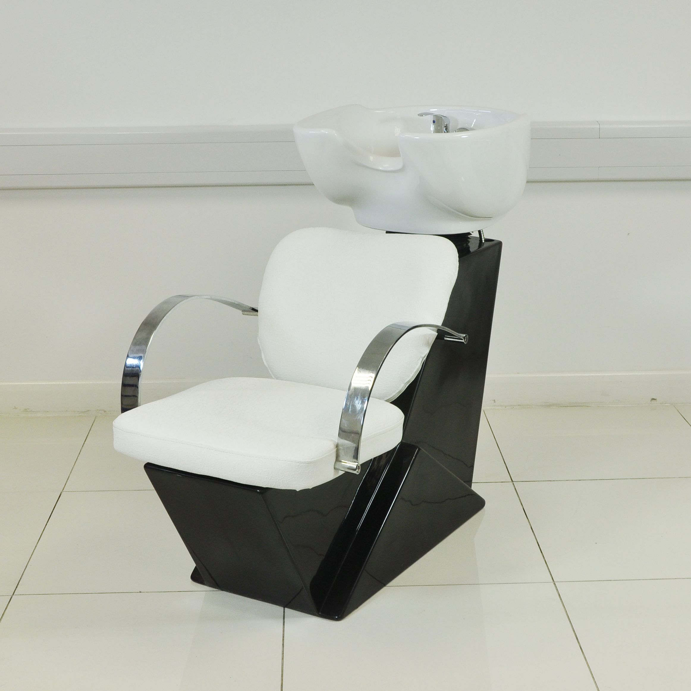 Shampoo Sink And Chair Doll Table Chairs For 18 Inch Dolls Modern White Hair Salon Unit Suites In 2019 Salons