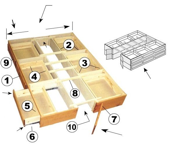 Ultimate Bed Platform Beds With Drawers Get Rid Of The
