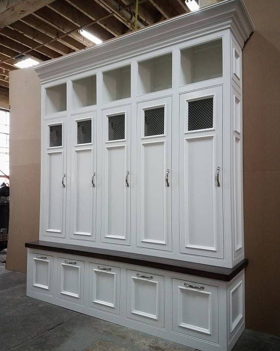 Dimensions 72 Wide X 84 H 18 Deep This Maple Locker System Mudroom