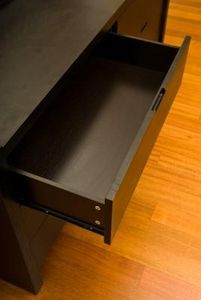 How To Replace The Drawer Rollers On An Old Desk Wood Drawer Slides Drawers Desk With Drawers