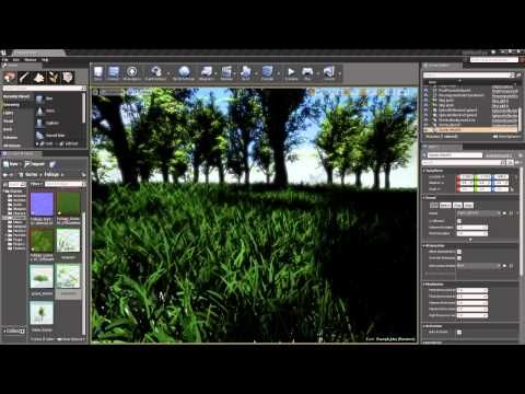 ▷ How to add wind to foliage unreal engine 4 - YouTube | Unreal