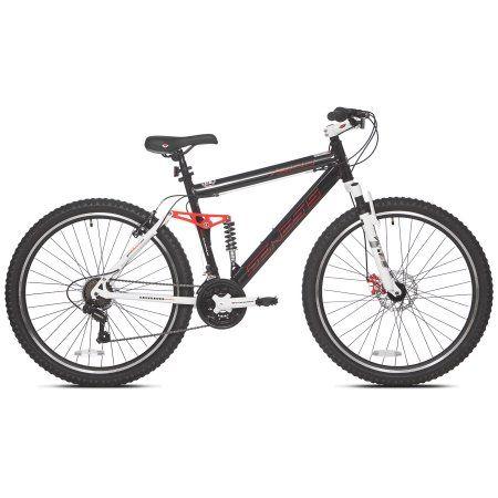 Genesis V2100 Mountain Bike 26 Men Aluminum Frame Yellow