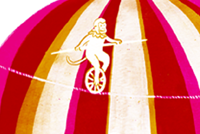 The whimsical and colorful work of illustrator Jacqui Lee - circus