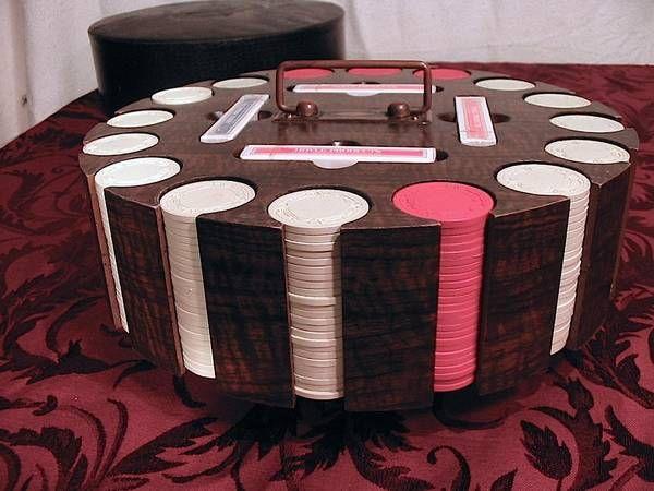 1937 Antique Poker Chips $50