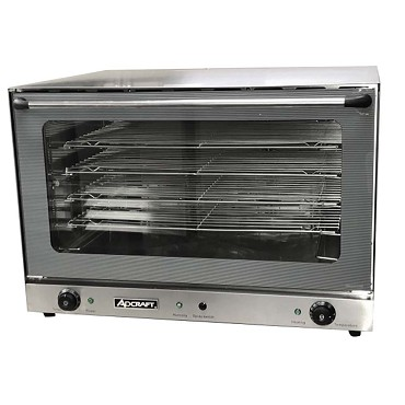Adcraft Cof 6400w Countertop Convection Oven Electric Full