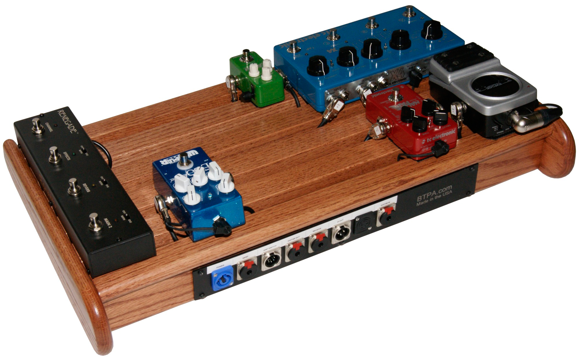 custom handmade wood pedal board | Guitar pedal boards ...