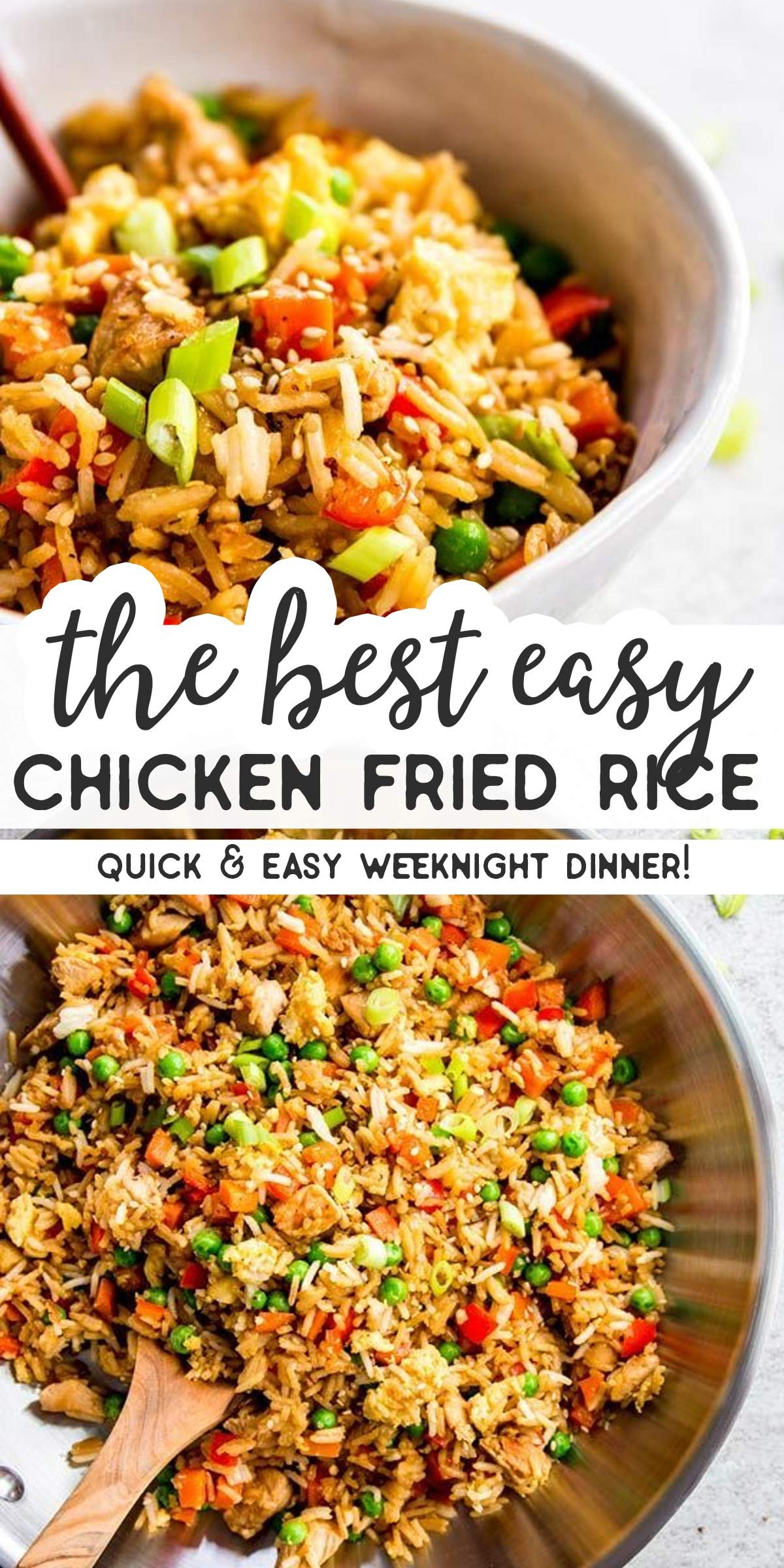 Photo of Easy Chicken Fried Rice