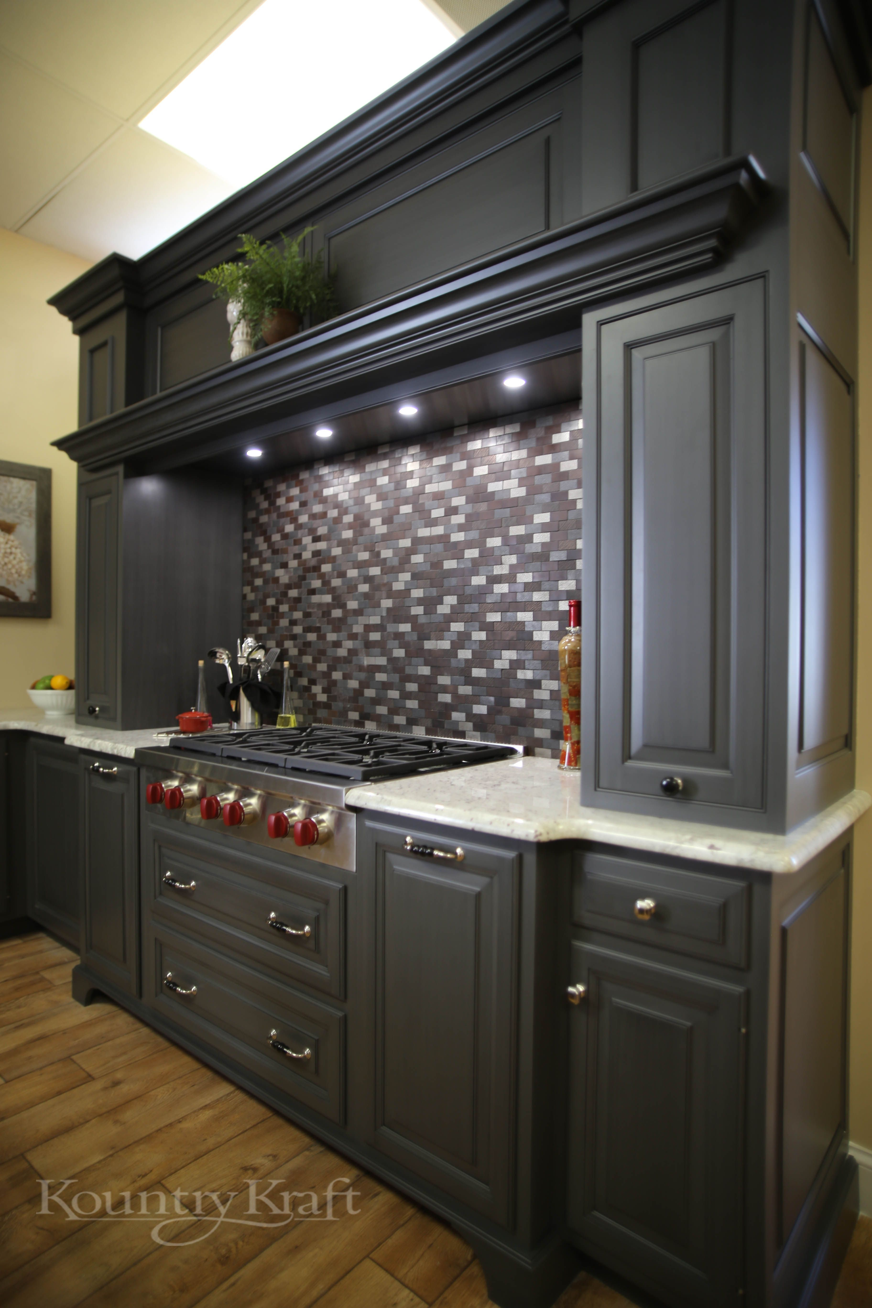 Custom Kitchen Cabinets Designed By Mike Hinkle Of In Birdsboro Pa This Transitional Style Has Perimeter That Are