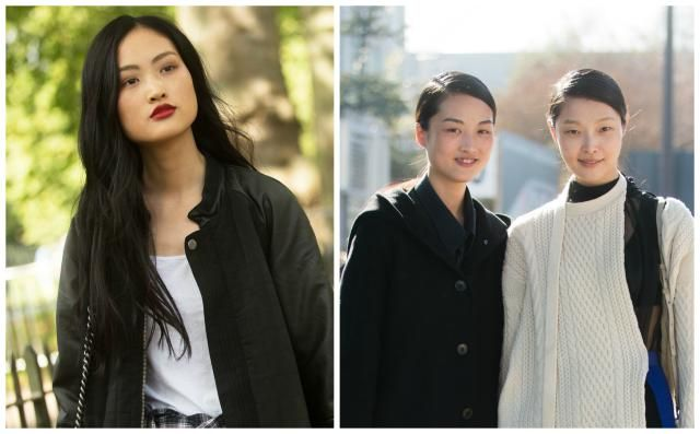 My Favorite Asian Hairstyles: Models Jing Wen and Sunghee Kim