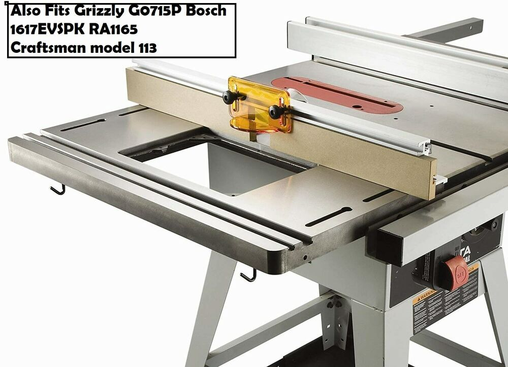 Router Table Saw Extension For Ridgid R4512 Ts2424 1 Ts3650 Ts3650 Hitachi C10fl Benchdog In 2020 Woodworking Tools Woodworking Tools For Sale Best Router Table